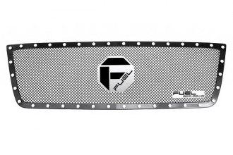 Fuel Grilles® - 1-Pc Studded Black Mesh Grille