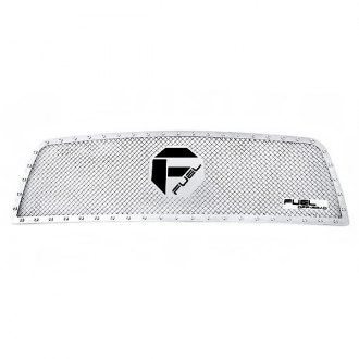 Fuel® - 1-Pc Studded Polished Mesh Grille