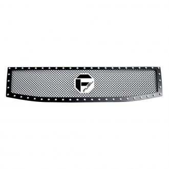 Fuel Grilles® - 1 Pc Studded Black Mesh Main Grille