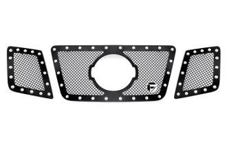 Fuel® - 3-Pc Studded Black Mesh Grille