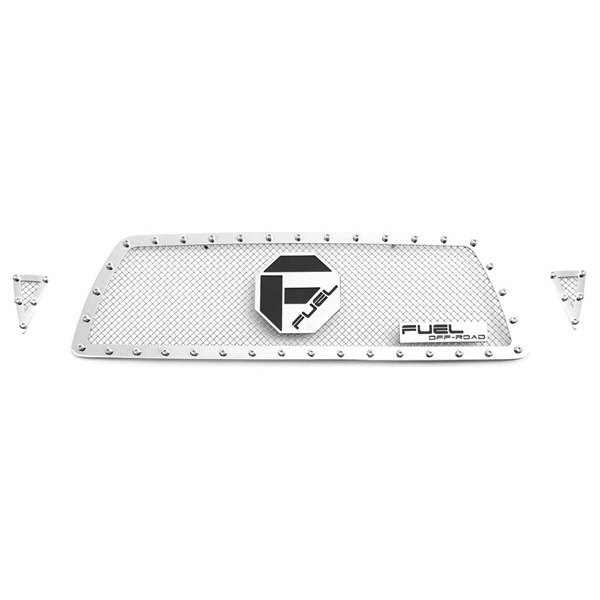 Fuel Grilles® - Studded Polished Mesh Main Grille
