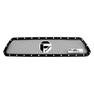 Fuel® - Stealth Metal Series Studded Black Mesh Grille with Black Studs
