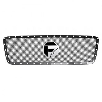 Fuel® - 1-Pc Black Studded Mesh Grille