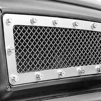 Fuel® - X-Metal Series Polished Mesh Grille Kit