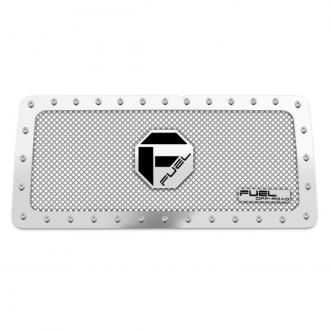 Fuel® - 1-Pc X-Metal Series Polished Mesh Main Grille