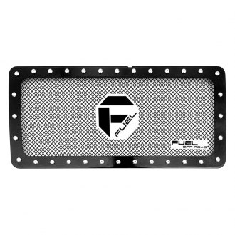 Fuel® - 1-Pc Stealth Metal Series Black Mesh Main Grille