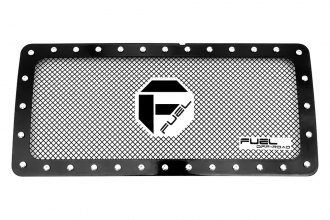 Fuel Grilles® - 1-Pc X-Metal Series Black Powder Coated Mesh Main Grille