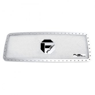 Fuel® - 1-Pc X-Metal Series Polished Mesh Grille