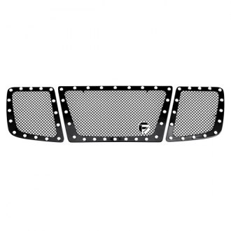 FUEL® - 3-Pc Black Studded Mesh Main Grille