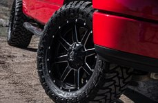 FUEL® - Mud Gripper M/T Tires on Ford F-150