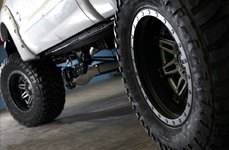 FUEL® - Mud Gripper M/T Tires on Ford F-250