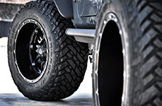 FUEL® - Off-Road Tires on Jeep Wrangler