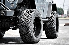 FUEL® - Mud Gripper M/T Tires on Jeep