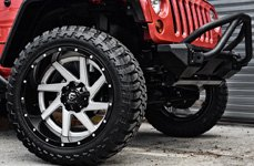FUEL® - M/T Tires on Jeep Wrangler