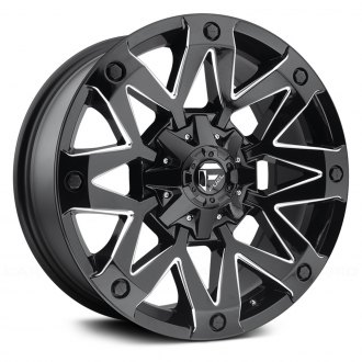 FUEL® - D555 AMBUSH 1PC Gloss Black with Milled Accents