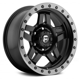 FUEL® - D557 ANZA 1PC Matte Black with Graphite Bead Ring