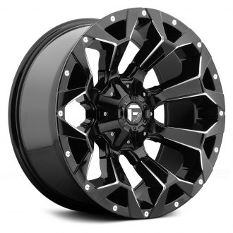 FUEL® - D576 ASSAULT 1PC Gloss Black with Milled Accents