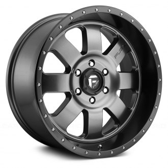 FUEL® - D628 BAJA 1PC Anthracite with Black Lip