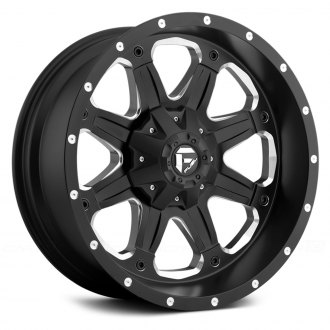FUEL® - D534 BOOST 1PC Black with Milled Accents