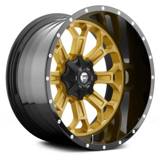 FUEL® - CRUSH 2PC FORGED CENTER Any Generic Color Center with Black Lip