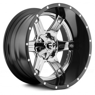 FUEL® - DRILLER 2PC FORGED CENTER Black with Chrome Face