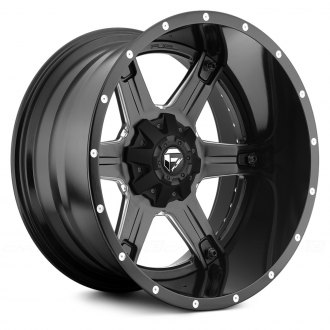FUEL® - DRILLER 2PC FORGED CENTER Black with Milled Accents
