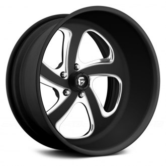 FUEL® - FF12.5 Matte Black with Milled Accents