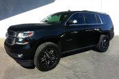 FUEL® - FULL BLOWN 1PC Gloss Black with Milled Accents on Chevy Tahoe