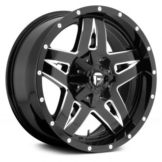 FUEL® - D554 FULL BLOWN 1PC Gloss Black with Milled Accents