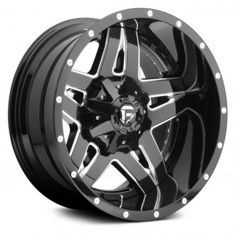 FUEL® - FULL BLOWN 2PC CAST CENTER Gloss Black with Milled Accents