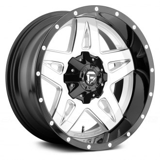 FUEL® - FULL BLOWN 2PC FORGED CENTER Any Generic Color Center with Black Lip