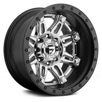 FUEL® - HOSTAGE 2PC FORGED CENTER Black with Chrome Face