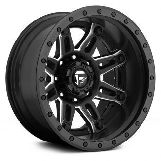 FUEL® - HOSTAGE 2PC FORGED CENTER Black with Milled Accents