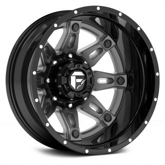 FUEL® - HOSTAGE DUALLIE 2PC Gloss Black with Antracite Center