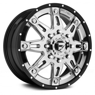 FUEL® - HOSTAGE II DUALLIE 2PC Gloss Black with Chrome Center