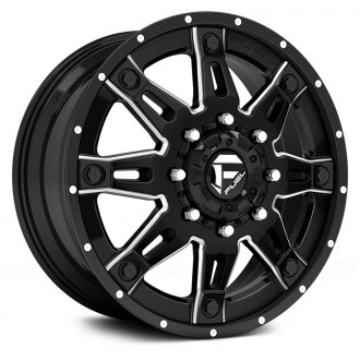 FUEL® - HOSTAGE II DUALLIE 2PC Gloss Black with Milled Accents