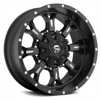 FUEL® - D517 KRANK 1PC Black with Milled Accents