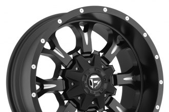 "FUEL® - KRANK Black with Milled Accents (20"" x 9"", +20 Offset, 6x135 Bolt Pattern, 106.4mm Hub)"