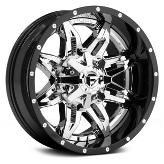 FUEL® - LETHAL 2PC FORGED CENTER Black with Chrome Face