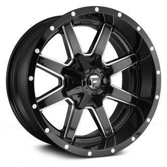 FUEL® - MAVERICK 1PC Gloss Black with Milled Accents