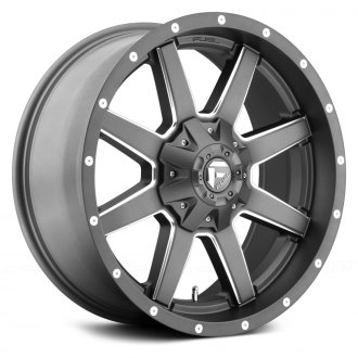 FUEL® - MAVERICK 1PC Gunmetal with Milled Accents