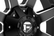 FUEL® - MAVERICK 1PC Matte Black with Milled Accents Close-Up