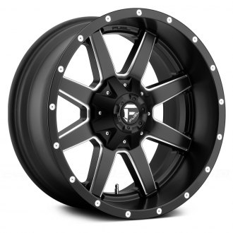 FUEL� - MAVERICK 1PC Matte Black with Milled Accents