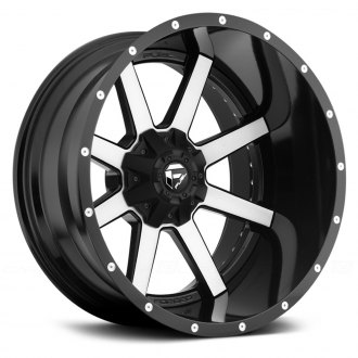 FUEL® - MAVERICK 2PC Black with Machined Face