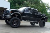 FUEL® - MAVERICK 2PC CAST CENTER Black with Milled Accents on Ford F250