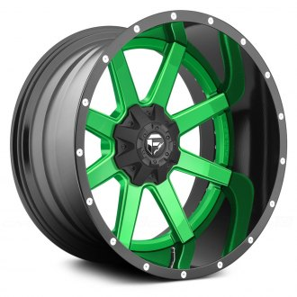 FUEL® - MAVERICK 2PC FORGED CENTER Any Generic Color Center with Black Lip