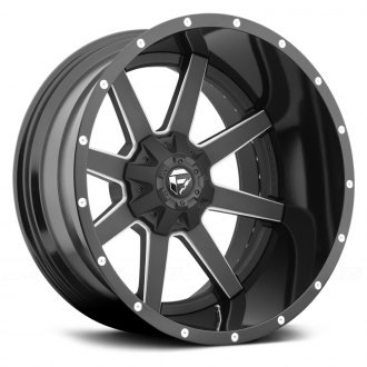 FUEL® - MAVERICK 2PC FORGED CENTER Black with Milled Accents