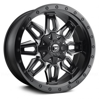 FUEL® - D591 NEUTRON 1PC Matte Black with Milled Accents