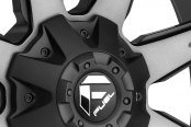 FUEL® - NUTZ 2PC Black with Machined Face Close-Up