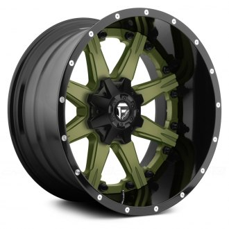 FUEL® - NUTZ 2PC FORGED CENTER Any Generic Color Center with Black Lip